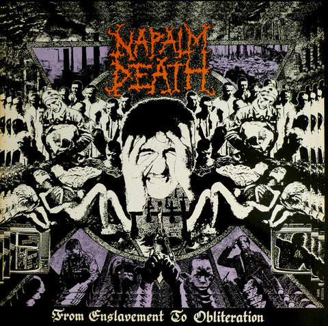 Napalm Death	- From Enslavement to Obliteration CD