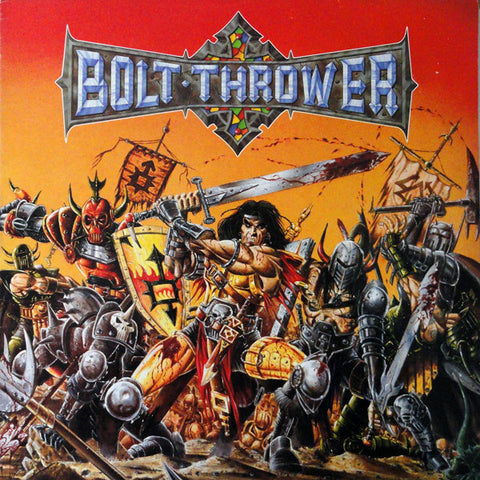 Bolt Thrower - Warmaster FDR Limited Edition Red and Yellow Vinyl