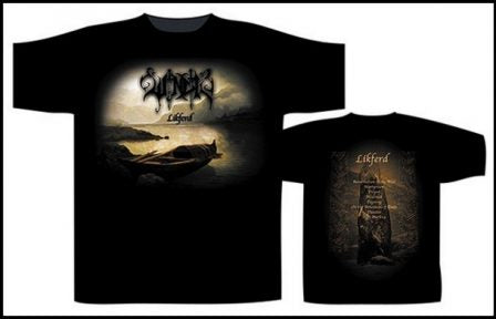 Windir - Likferd Short Sleeved T-shirt