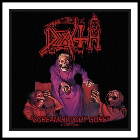 Death - Scream Bloody Gore Patch