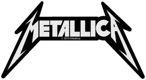 Metallica	- Cut Out Logo Patch