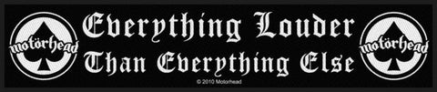 Motorhead - Everything Louder Superstrip Patch