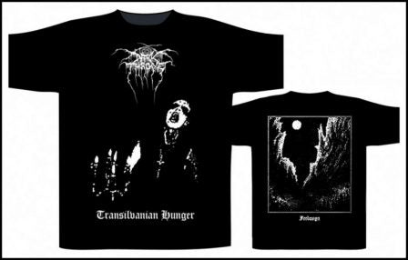 Darkthrone - Transilvanian Hunger Short Sleeved T-shirt