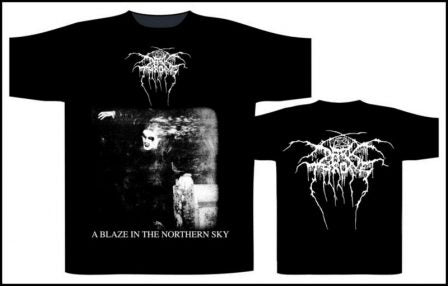 Darkthrone - A Blaze In The Northern Sky Short Sleeved T-shirt