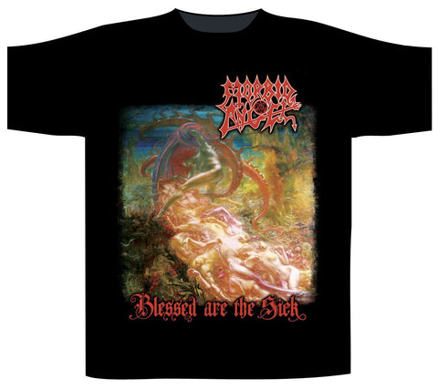 Morbid Angel - Blessed Are the Sick Short Sleeved T-shirt With White backprint