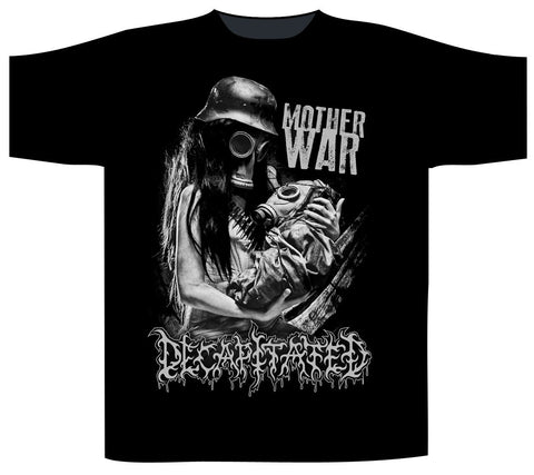 Decapitated - Mother War Short Sleeved T-shirt
