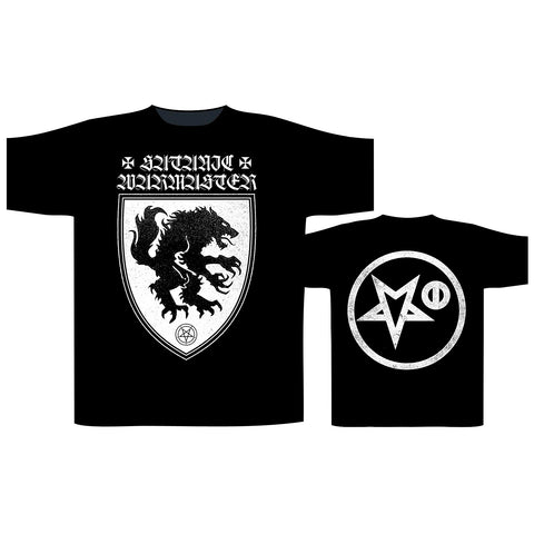 Satanic Warmaster - Werewolf Logo Short Sleeved T-shirt