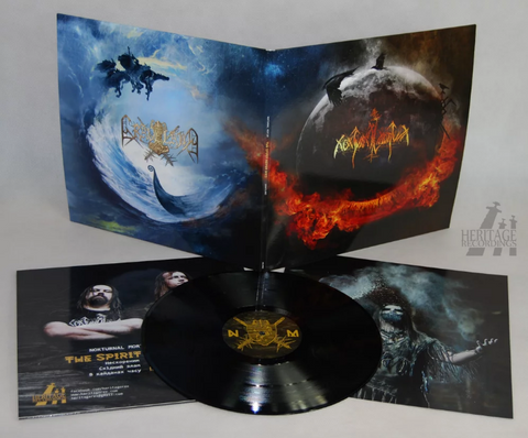 Nokturnal Mortum / Graveland - The Spirit Never Dies Black Vinyl LP