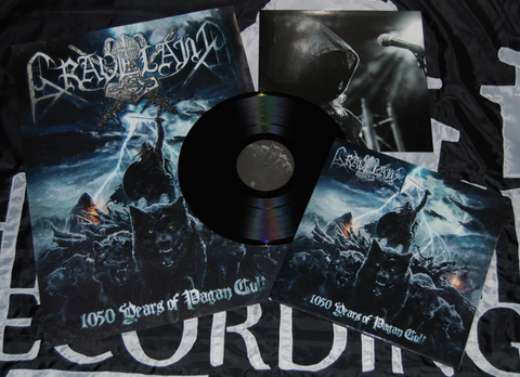 Graveland - 1050 Years of Pagan Cult Black Vinyl LP