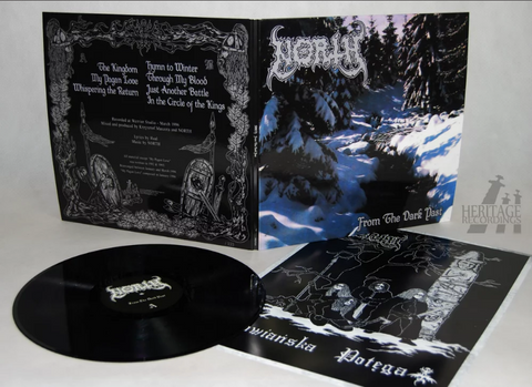 North - From the Dark Past Black Vinyl LP