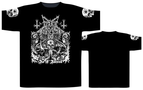Dark Funeral - As I Ascend Short Sleeved T-shirt