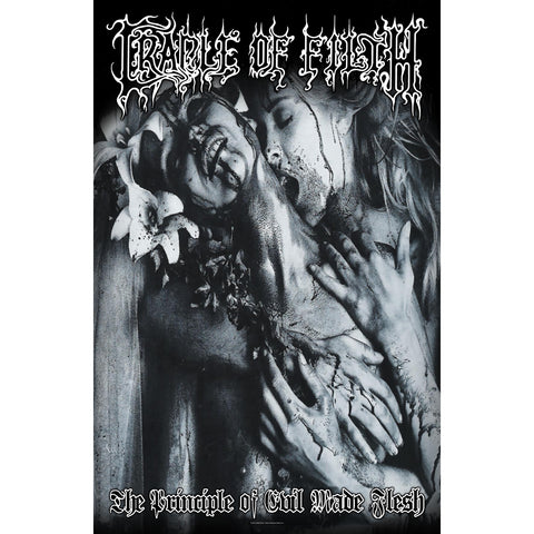 Cradle Of Filth - The Principle Of Evil Made Flesh Flag