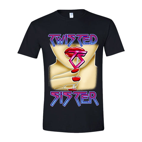 Twisted Sister - Love Is For Suckers Short Sleeved T-shirt
