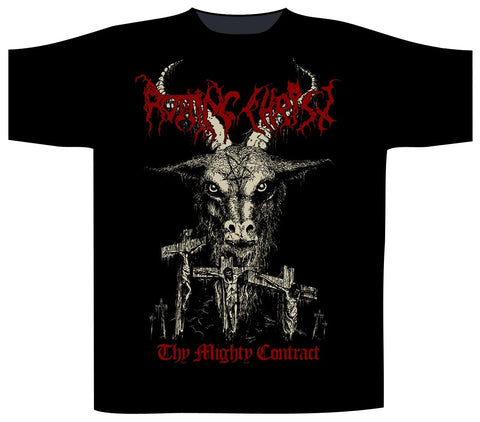 Rotting Christ - Thy Mighty Contract Short Sleeved T-shirt