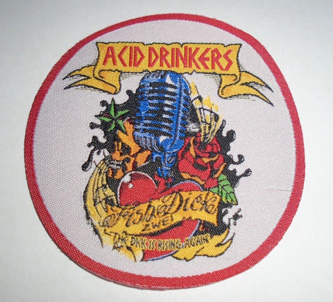 Acid Drinkers - FishDick Zwei Circular Patch