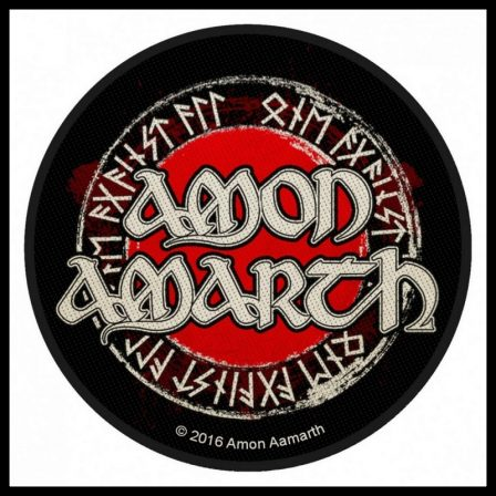 Amon Amarth - Runes Circular Patch