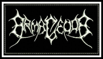Armagedda - Logo Patch - REDUCED PRICE!
