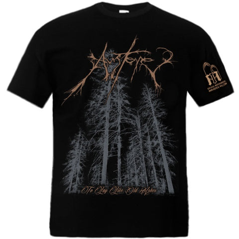 Austere - To Lay Like Old Ashes Short Sleeved T-shirt - LAST SIZE!!