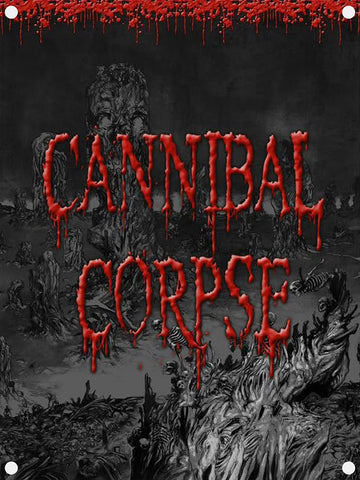 Cannibal Corpse - A Skeletal Domain Flag
