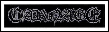 Carnage - Logo Strip Patch