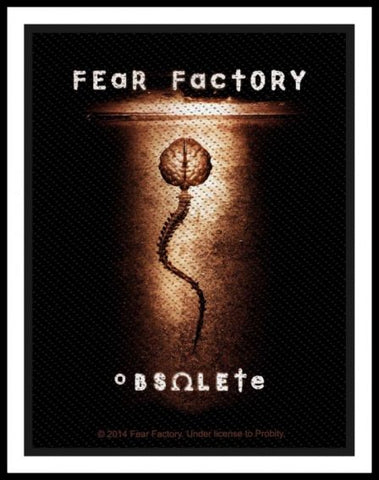 Fear Factory - Obsolete Patch - REDUCED PRICE - LAST ONE!!