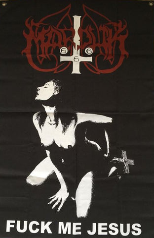 Marduk – Fuck Me Jesus Flag – Limited to less than 70!