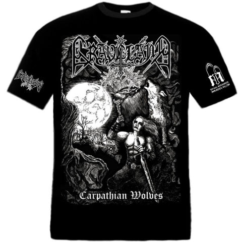 Graveland - Carpathian Wolves Short Sleeved T-shirt