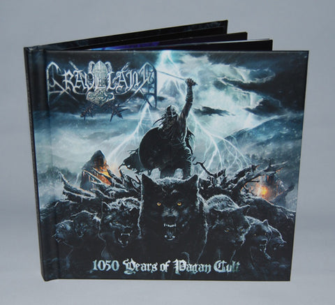 Graveland - 1050 Years of Pagan Cult CD Digibook
