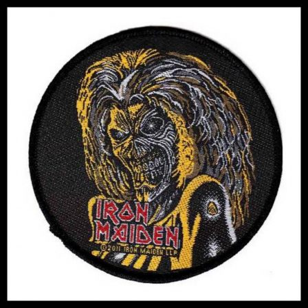 Iron Maiden - Circular Killers Eddie Head Patch