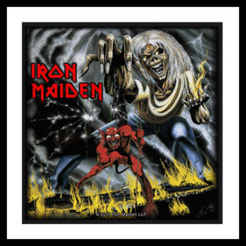 Iron Maiden - Number Of The Beast  Patch