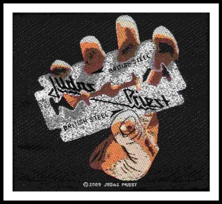 Judas Priest- British Steel Patch