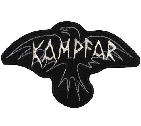 Kampfar - Raven Logo Patch