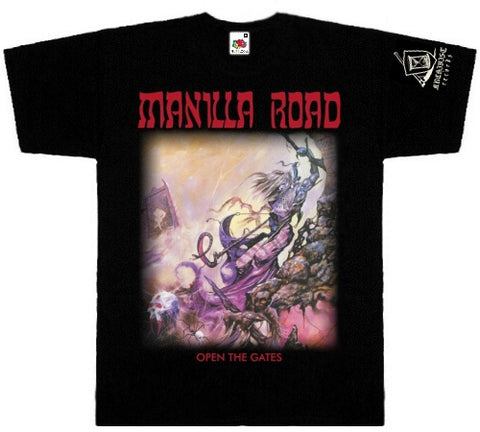 Manilla Road - Open the Gates Short Sleeved Tshirt
