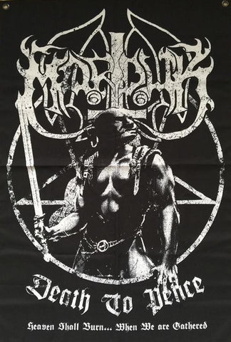 Marduk – Death to Peace ... Heaven Shall Burn When We Are Gathered Flag – Limited to less than 70!