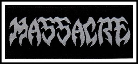 Massacre - Logo Patch