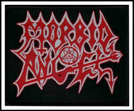 Morbid Angel - Logo Patch REDUCED PRICE!!