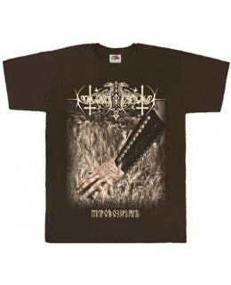 Nokturnal Mortum - Weltanschauung Brown Short Sleeved T-shirt