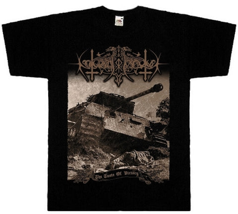Nokturnal Mortum - The Taste of Victory Short Sleeved T-shirt