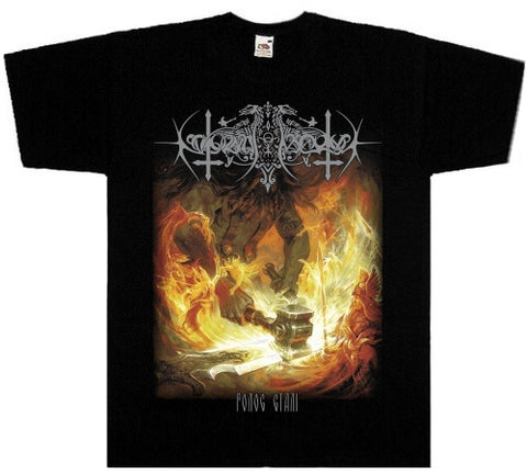 Nokturnal Mortum - The Voice of Steel Short Sleeved T-shirt
