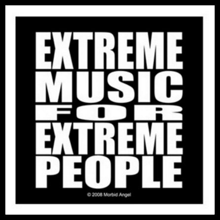 Morbid Angel - Extreme Music For Extreme People Patch
