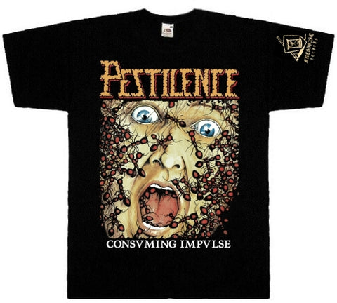 Pestilence - Consuming Impulse Short Sleeved Tshirt