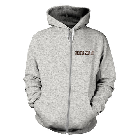Burzum - Filosofem 2 Hooded Grey Zipper