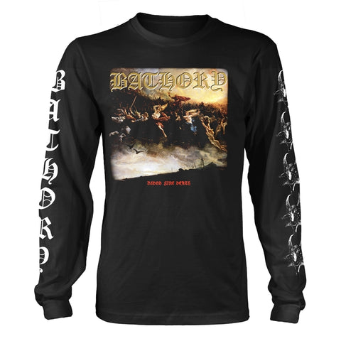 Bathory - Blood Fire Death 2 Long Sleeve Shirt