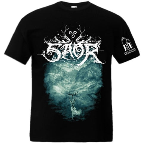 Saor - Forgotten Paths Short Sleeved T-shirt