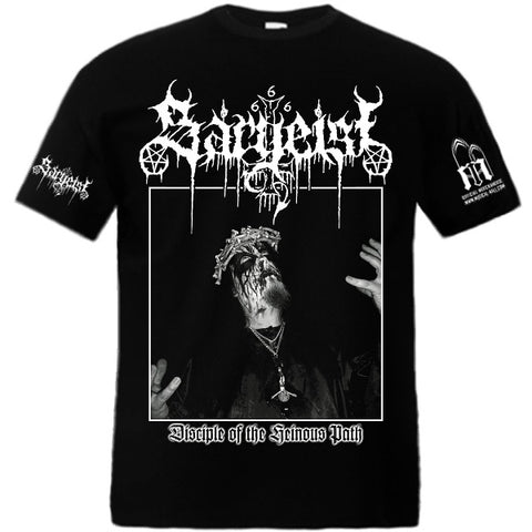 Sargeist - Disciple of the Heinous Path Short Sleeved T-shirt
