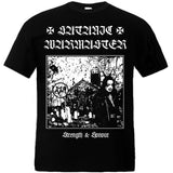 Satanic Warmaster - Strength & Honour Short Sleeved T-shirt