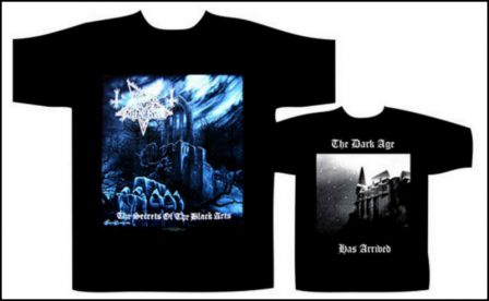 Dark Funeral - Secrets Of The Black Arts Short Sleeved T-shirt