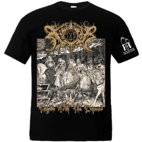 Xasthur - Telepathic With The Deceased Short Sleeved T-shirt