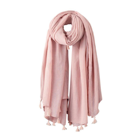 Women's Long Wool Scarf Wrap 3 Colors