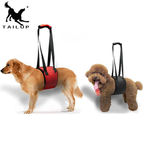 Pet Dog Rehabilitative Lift Support Assist Harness Vest S M L XL 5 Colors